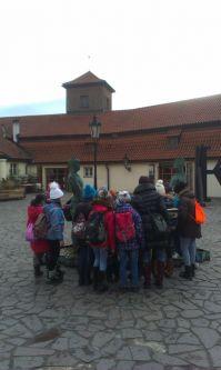 Stará cihelna a sochy Davida Černého
