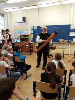 Sponzorský dar- koncert ve třídě