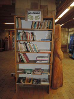 Knihovna ve vestibulu