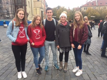 They are from Manchester. They were very cute. They liked everything in Prague. We helped them how to spend there time well.